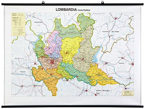 Lombardia (fisico-politica)