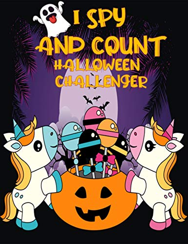 New TitleI SPY AND COUNT HALLOWEEN CHALLENGER: Counting Interactive Picture Book for Kids, Kindergarteners, Toddlers and Preschoolers Ages 2-5 Years Old. (English Edition)