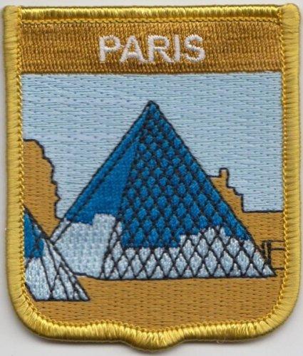 Frankreich Paris Louvre Museum Flagge bestickt Patch