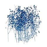 KunmniZ 1 caja de relleno de flores secas hechas a mano con resina epoxi para manualidades, moldes de silicona, accesorios de cristal UV Dbl