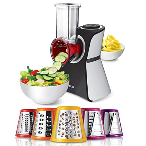 Find Bargain DLT Versatile 2 in 1 Frozen Fruit Treat Ice Cream Maker and Salad Shooter with 5 Stainl...