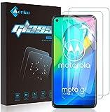 Aerku für Motorola Moto G8 Power/Moto G Pro Panzerglas, 9H HD Schutzfolie Anti-Kratzer Ultra Glatte Film Bildschirmschutzfolie Blasenfreie Panzerglasfolie für Motorola Moto G Pro[2Stück]-Transparent