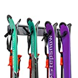 Ski Storage Rack, Wall Mounted,...