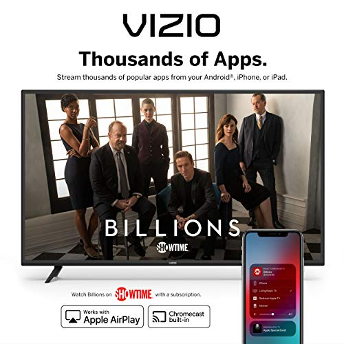 VIZIO 65 Inch 4K Smart TV, M-Series Quantum UHD LED HDR Television with Apple AirPlay and Chromecast Built-in