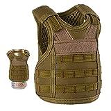 Lightbare Mini Tactical Vest Bottle Beer Vest...