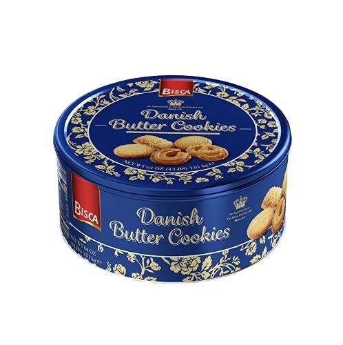 Bisca Dansk Danish Butter Cookie Assortment -4 LBS