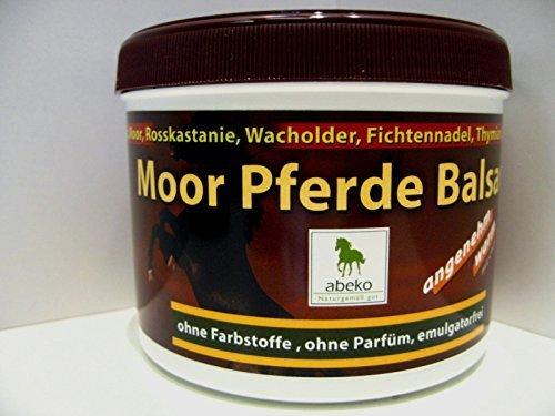 Moor Pferde Balsam - angenehm wärmend v. abeko - 2er Sparset 1000 ml