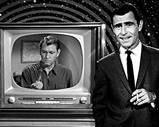 Rod Serling and Earl Holliman in The Twilight Zone by vintage TV screen episode Where Is Everybody? 16x20 Canvas