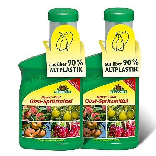 2x Neudorff - Neudo-Vital Obst-Spritzmittel 250 ml