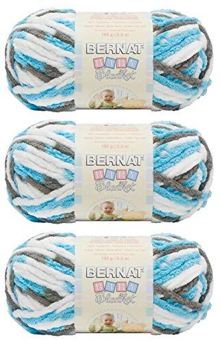 Bernat Bulk Buy - Ovillo de lana para bebé (3 unidades) (#161103-3738-sail-away)
