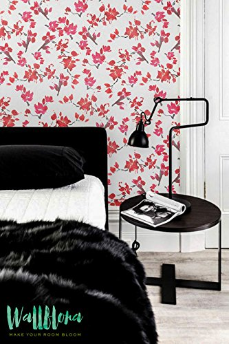 Papier peint Cerisier - Cerise - Cherry Blossom Papier peint amovible sticker mural papier peint - Cerise - Cherry Blossom autocollant papier peint, 53 Cm wide by 243 Cm Tall
