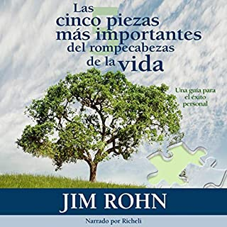 Las cinco piezas mas importantes del rompecabezas de la vida [The Five Major Pieces to the Life Puzzle] audiobook cover art
