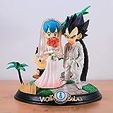 Dragon Ball Anime Figura De Acción Vegeta 23Cm/9.1In PVC Modelo De Colección Estatua Modelo De Decor...