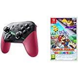 Xenoblade Chronicles 2 Controller & Paper Mario: The Origami King Nintendo Switch Gaming Bundle