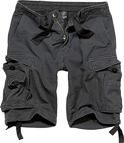 Brandit Vintage Short Gr:- XL, Farbe:-Schwarz