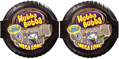 Hubba Bubba Bubble Tape Cola Gum, Bubble Tape Cola Gum of 56 Gram, Pack of 2.