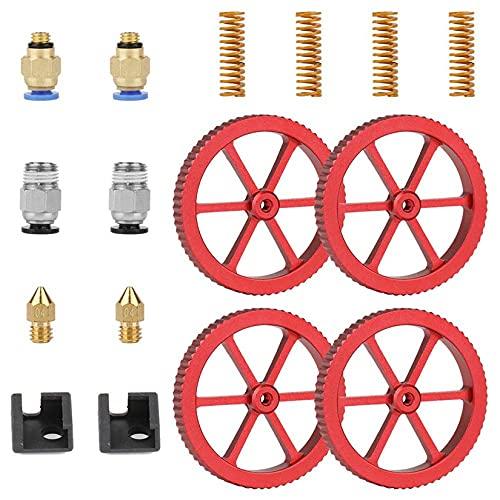 Marco de extrusora de alimentador de metal mejorado, tubo Capricorn Premium XS Bowden, acopladores neumáticos y...