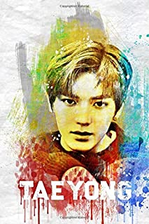 Taeyong: NCT Member Color Splatter Art 100 Page 6 x 9