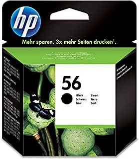 HP 56 - Cartucho de tinta Original HP 56 pequeño Negro para HP DeskJet 9680gp, 5550, 450cbi, 450ci; HP PSC 2175, 1210, 1216, 1315, 2210v, 2210xi, 1350, 2105, 2110, 2210, (B000NOU7QU)   Amazon price tracker / tracking, Amazon price history charts, Amazon price watches, Amazon price drop alerts