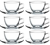 12tlg. Set Espressotassen mit Unterteller Basic