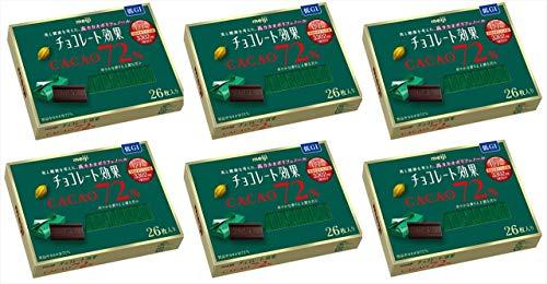 チョコレート効果 カカオ72% 6箱