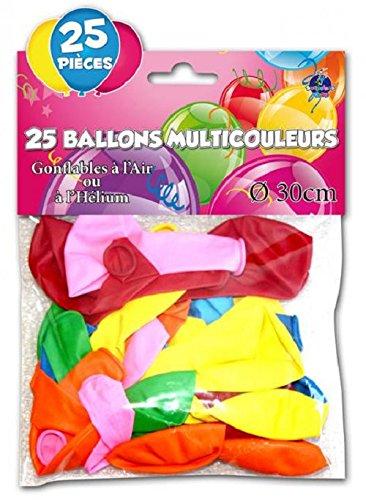 25 BALLONS BAUDRUCHES - DECO SAL...