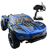 Fistone RC Car Rock Crawler High Speed Racing Cars Buggy 2.4G Remote Control Monster Truck Off-Road Vehicle Hobby Electronic Game Kids Toys Model (Blue)