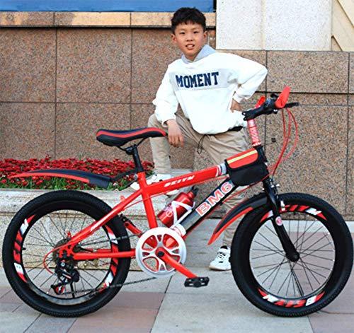 Bicicletas Infantiles con Bicicleta De Los Niños 6-12 Años De Edad Boy Alumnos De Bicicletas De Montaña (20 Pulgadas) Primaria Bicicleta De Montaña Cambio De Velocidad