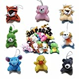 30 Pack Mini Plush Animals Toys Set, Party Favors Small Plush Stuffed Animals for Birthday,Theme Party,Christmas, for Classroom Rewards