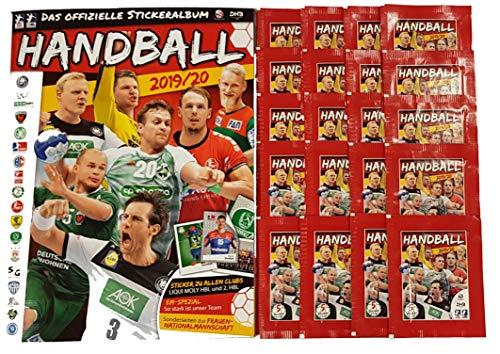 Victus Blue Ocean Handball Sticker Saison 2019/20 Stickeralbum + 20 Stickertüten