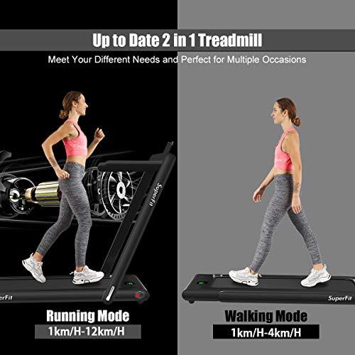 Goplus Folding Desk Treadmill