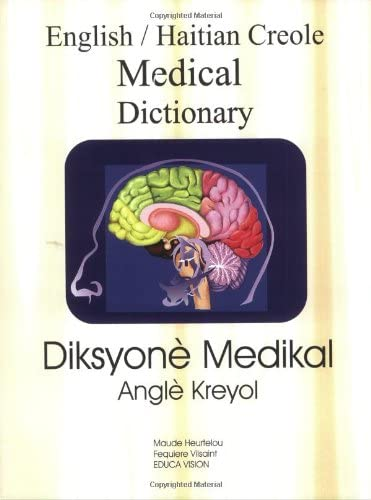 English Haitian Creole Medical Dictionary Creole Edition product image