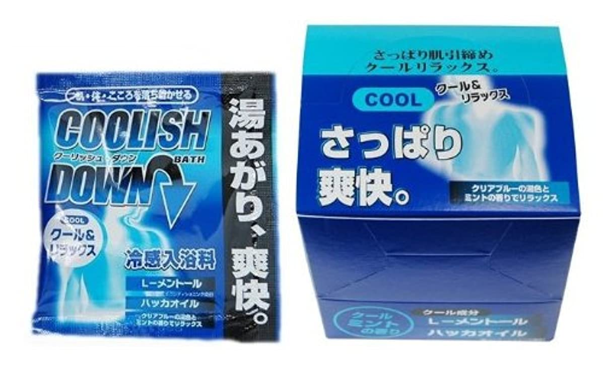メタルライン絞る機関五洲薬品 クーリッシュダウン 25g×10包入
