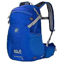 Jack Wolfskin Uni Backpack Moab Jam 18, 44 x 23 x 16 cm, Active Blue, 2002312-1080