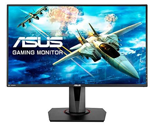"ASUS VG278Q - Monitor de Gaming de 27"" (WQHD, 1920 x 1080, 0,4 ms, 144 Hz, Extreme Low Motion Blur Sync, G-SYNC Compatible, Adaptive-Sync) color Negro"