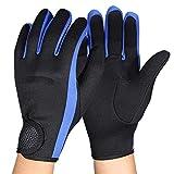 VGEBY 1Pair Scuba Diving Gloves, Neoprene Snorkeling Kayaking Surfing Water Sport Gloves(M-Blue)