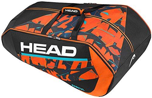 HEAD Radical 12R Monstercombi Schlägertaschen, Schwarz, One Size