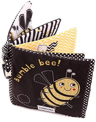 Amycute Stoffbuch für Babys,Weiches Buch für Babys,Soft-Bilderbücher für Unisex Baby,Soft Books Babyspielzeug,Early Learning Lernspielzeug.