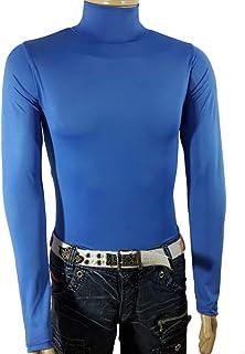 Camiseta Gola Alta Témica Proteção Uv Manga longa Poliéster