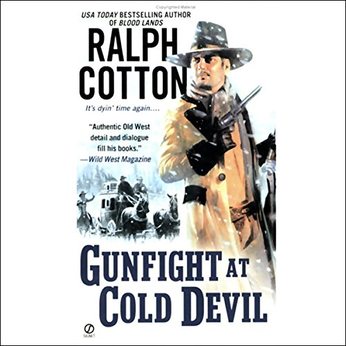 Gunfight at Cold Devil audiobook cover art