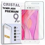 Protector de Pantalla para XIAOMI REDMI Note 5A / REDMI Note 5A Prime/XIAOMI Y1 / Y1 Lite, Cristal Vidrio Templado Premium
