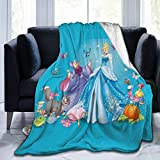 Acid Lemon Ci-Nd-E-Re-Ll-A Adults Kids Fleece Bed Blankets Lightweight Cozy Throw Blanket for Couch Sofa Bedroom,Black,50'X40'