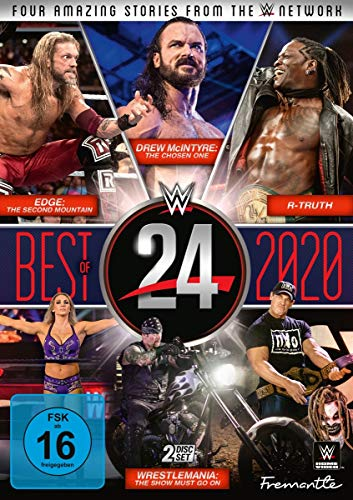 WWE - WWE 24 - The Best of 2020 (2 DVDs)