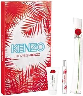 Flower by Kenzo for Women - Eau de Parfum, 3 Pieces