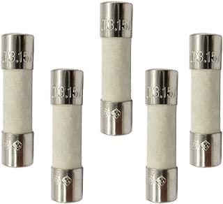 BOJACK F3.15AL250V 5x20mm 3.15A 250V Fast Blow Fuses 3.15 Amp 250 Volt 0.2 x 0.78 Inch Glass Tube Fuses Pack of 20 Pcs