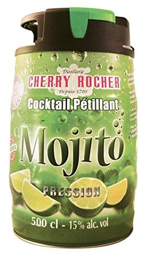 mojitostore.fr Mojito en Fut Pression 5 litres Fut de Mojito déjà prêt et déjà dosé Cocktail pétillant alcoolisé