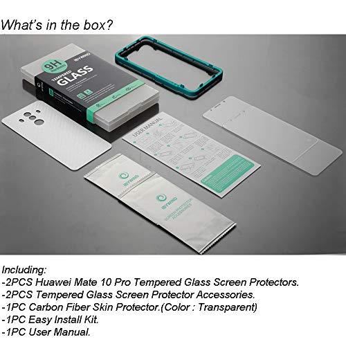 Ibywind Panzerglasfolie für Huawei Mate 10 Pro[2 Stück]-HD Displayschutzfolie,Tempered Glas Schutzglas,Handy Hartglas Schutzfolie mit Applikator für die Installation - 6
