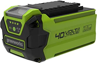 Greenworks Tools accu G40B2 (Li-Ion 40V 2Ah herlaadbare krachtige accu geschikt voor al het gereedschap uit de Greenworks ...