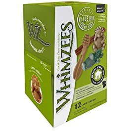 Whimzees Natural Dog Treat, Variety Box