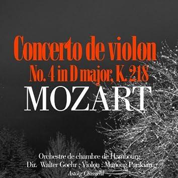 Mozart : Violin Concerto No. 4 In D Major, K. 218